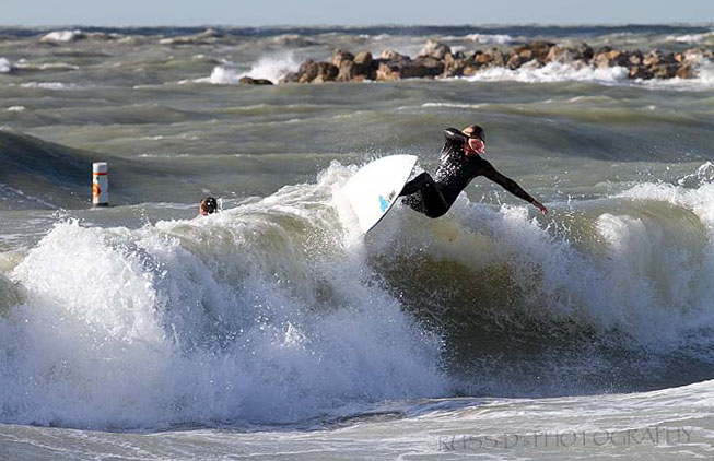 Fun waves at N County today.